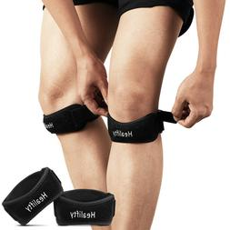 Healifty 1 Pair Durable Knee Support Brace Knee Protector fo