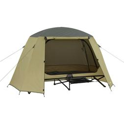 1 Person Cot Tent Double Folding Camping Sleeper Canopy Bed