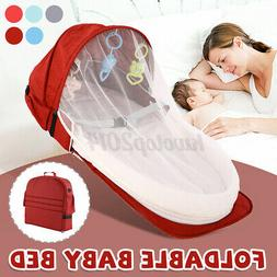 2in1 foldable portable baby bed and backpack