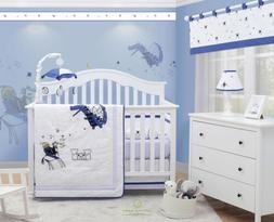 OptimaBaby 6PCS Knight and Dragon Baby Nursery Crib Bedding
