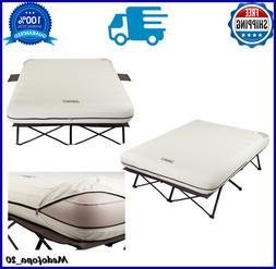 Air Mattress Folding Cot Side Table 4D Battery Pump Sleeping