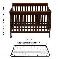 Baby Crib Infant Bed Cot Portable Nursery Furniture Newborn