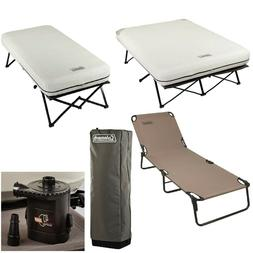 camping beds air mattress and pump combo