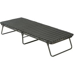 camping cot with sleeping pad folding comfortsmart