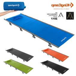 KingCamp Camping Folding Bed Sleeping Cot Ultralight Militar