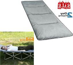 Cot Mattress Pad XL Camping Comfortable Cotton Thick Sleepin