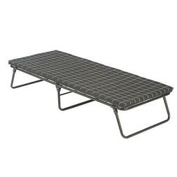 Coleman Deluxe Folding Cot Foam Mattress Pad Camping Bed Com