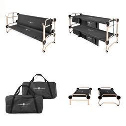 Disc-O-Bed Large Cam-O-Bunk Cot with Organizers & Youth Kid-