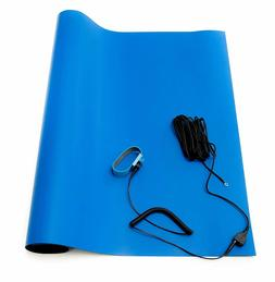 Bertech ESD 3 Layer High Temperature Rubber Mat Kit Wrist St