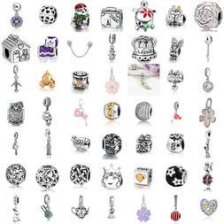 European Charms Silver Cartoon Love Beads Pendant Fit 925 st