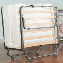 folding bed cot sized with 4 5