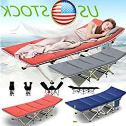 Folding Bed in a Bag for In&Outdoor Heavy Duty Holds Adults