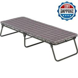 Folding Camping Bed Outdoor Comfort Portable Military Cot Sl