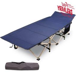 """Redcamp Folding Camping Cots For Adults Heavy Duty, 28"""" - 33"""