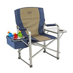 Folding Chair Cup Holder Lounge Yard Outdoor Can Cooler Tabl