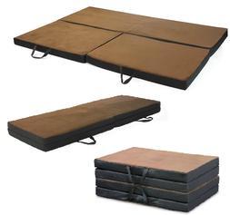 Folding Portable Full Foam Mat Cot Bed Mattress Pad Sleep Ca