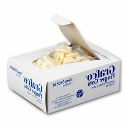 GRAFCO LATEX FINGER COTS 144 PER BOX NATURAL LATEX # 3908 -