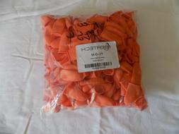 Bertech Heavy Duty Industrial Grade Finger Cots, Orange Colo