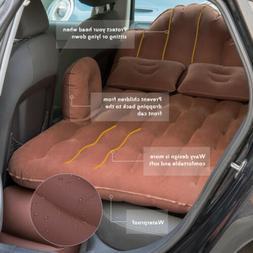 Inflatable Air Mattress Car Cushion Travel Camping Back Seat