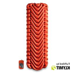 Klymit Insulated Static V Air Mattress - Orange