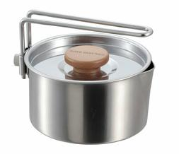 """Captain Stag Kettle and Cooker 12cm / 4.72"""" 730mL / 24.68 fl"""