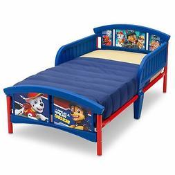 Kids Bed Frame Rails Toddler Paw Patrol Boys Bedroom Furnitu
