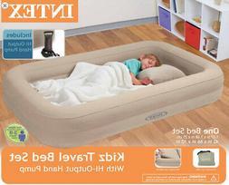 Kids Travel Bed Inflatable Portable Folding Toddler Air Matt