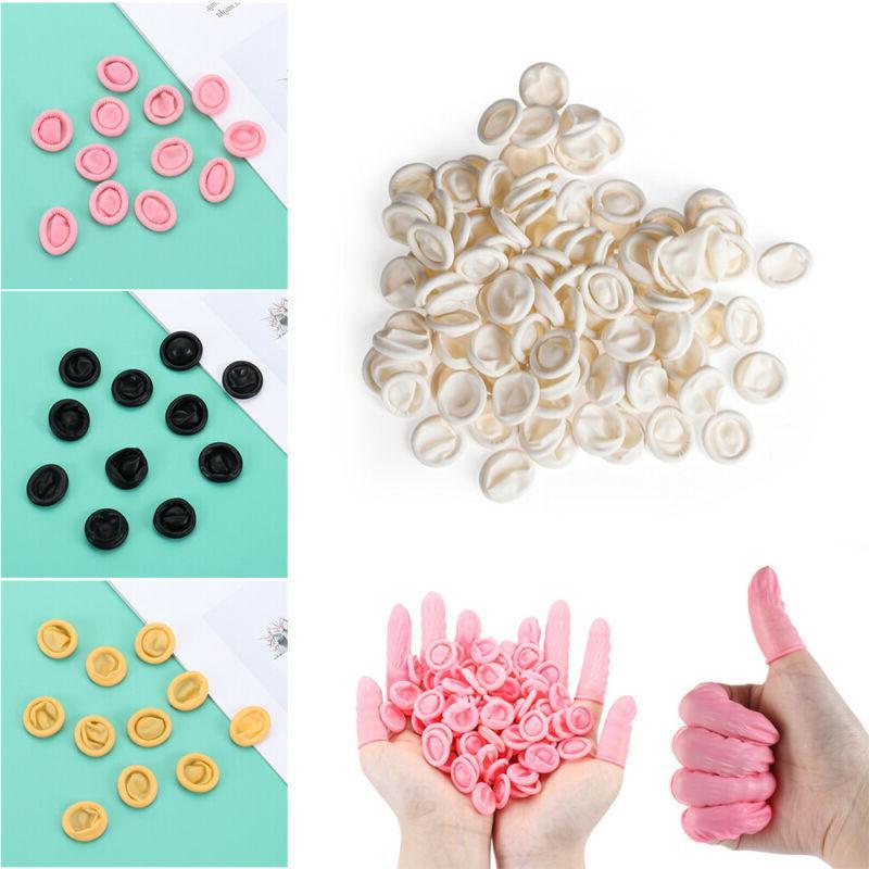100/300PCS Fingertips Gloves Non-slip Anti-static