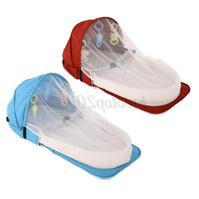 2IN1 Portable Bed & Crib Nursery Travel Mosquito