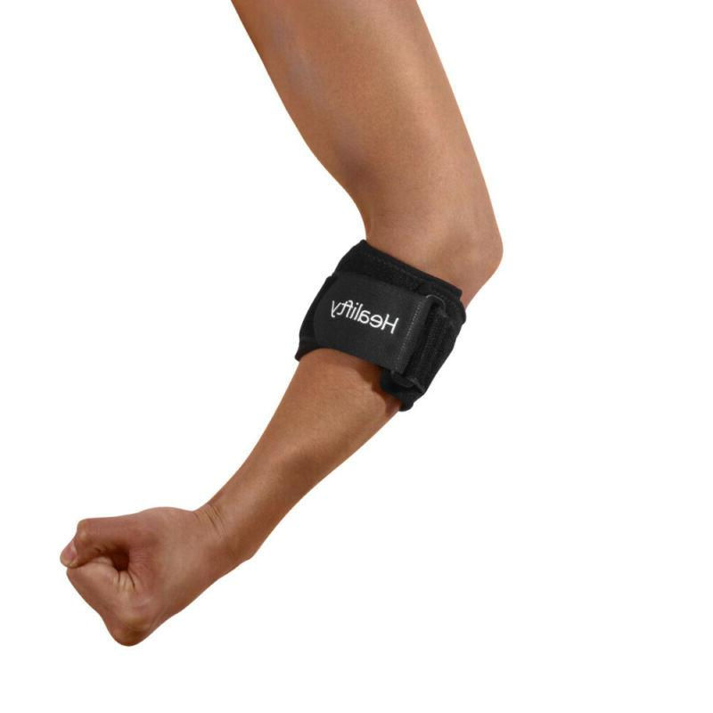 Healifty Unisex Elbow Pad for Arthritis