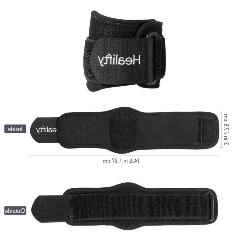 Healifty 2PCS Durable Unisex Elbow Protector Pad for Arthritis