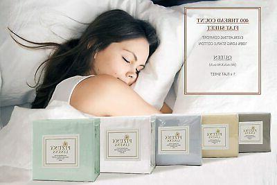 Cotton Queen Sheets Cream 1pc, Staple