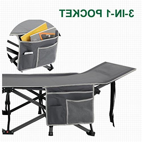 ALPHA CAMP Folding Bed Portable with Bag