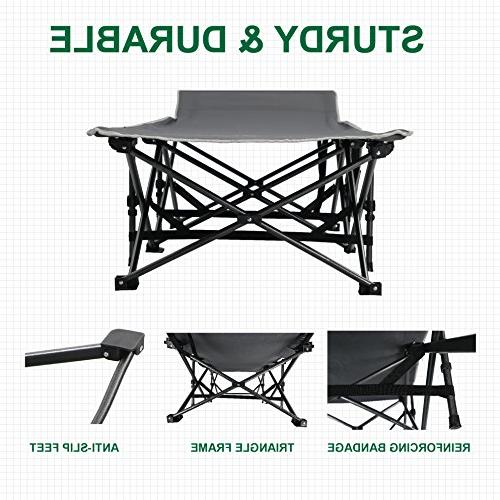 ALPHA Folding Bed Portable with
