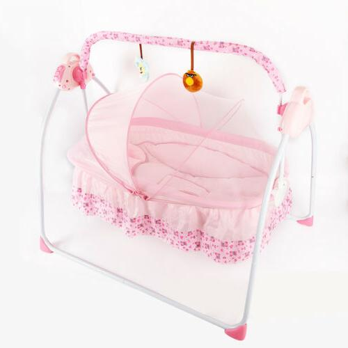 Baby Cot Pink Bluetooth