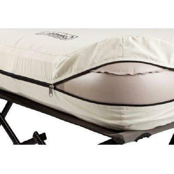 Camping Air Mattress Queen Size Folding Camp Bed