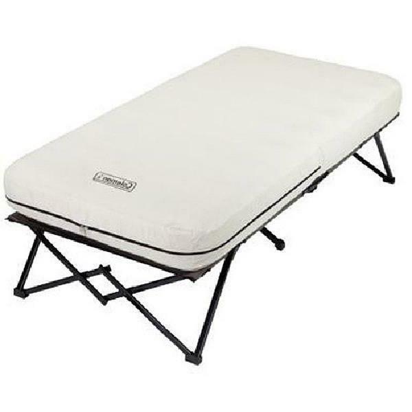camping cot air mattress queen twin size