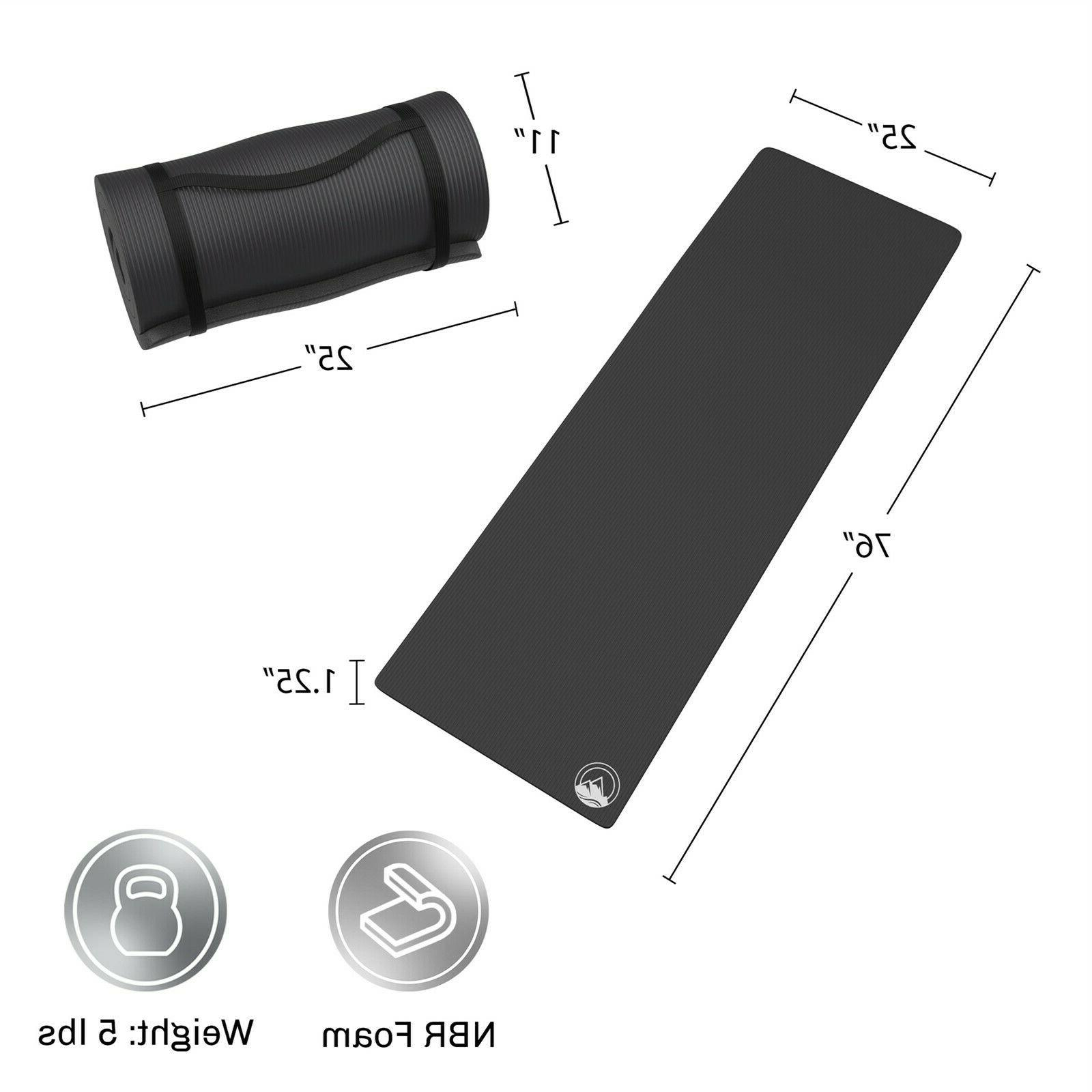 Camping Mat 1.25 Inch Foam Travel 76 x 25 Pad for Tent