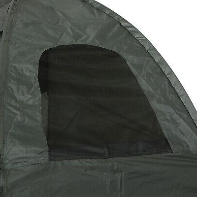 Outsunny Man Outdoor Camping Cot for Adults
