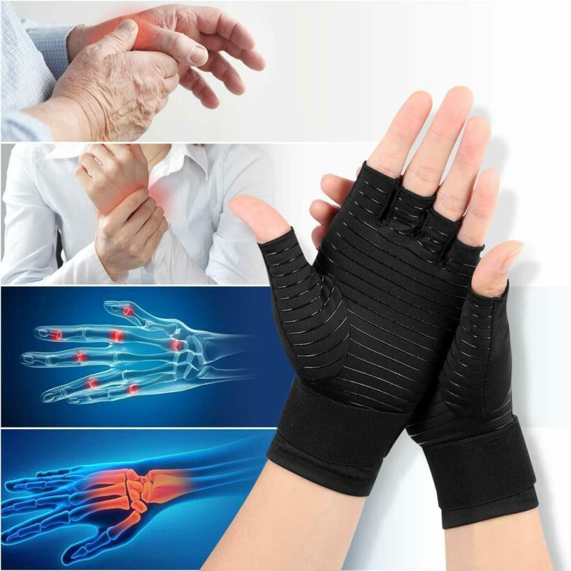 Healifty Compression Arthritis Gloves Night Wrist