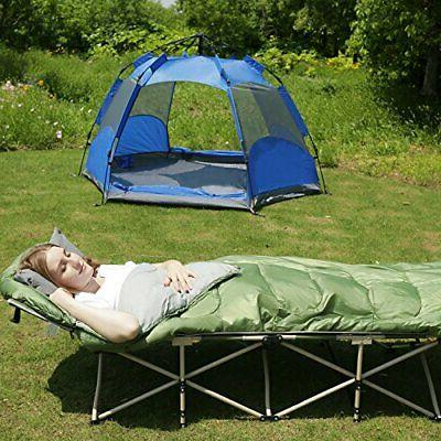 REDCAMP Cot Sleeping for Adults 3 Warm Weather Sleeping Lightw...