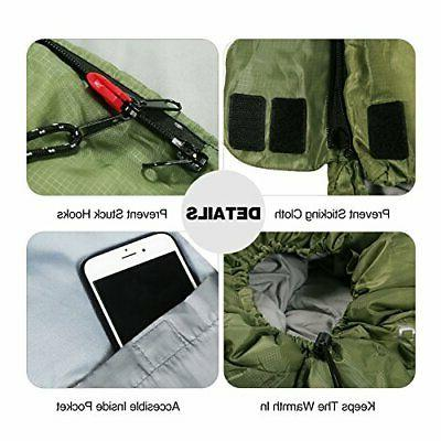 REDCAMP Cot Sleeping Bag for Warm Lightw...