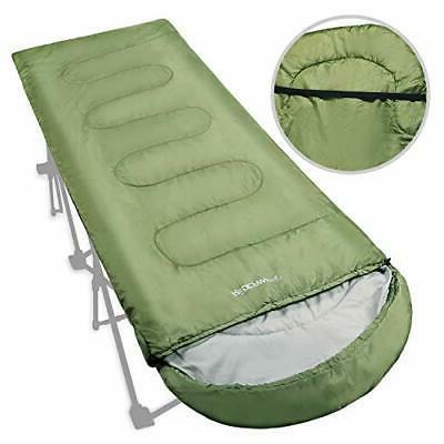 cot sleeping bag for adults 3 season