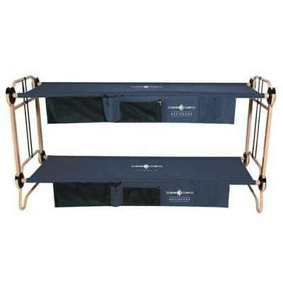 Disc-O-Bed Double Cot Organizers, Navy Blue