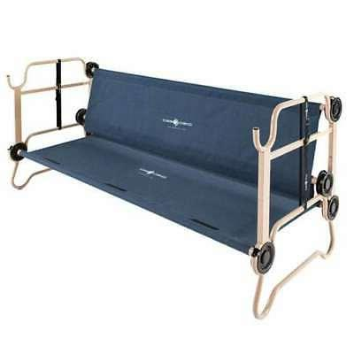 Disc-O-Bed Bunked Double w/ Navy