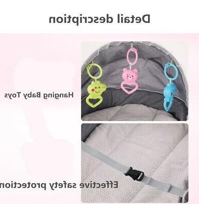 Folding Infant Bed Mosquito Net Nursery Bag