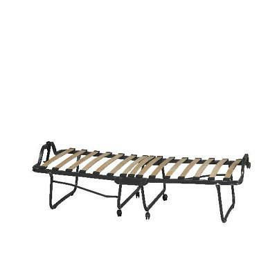 "Folding Bed 4.5"" Memory Foam Mattress Sleep Rollaway Saver"