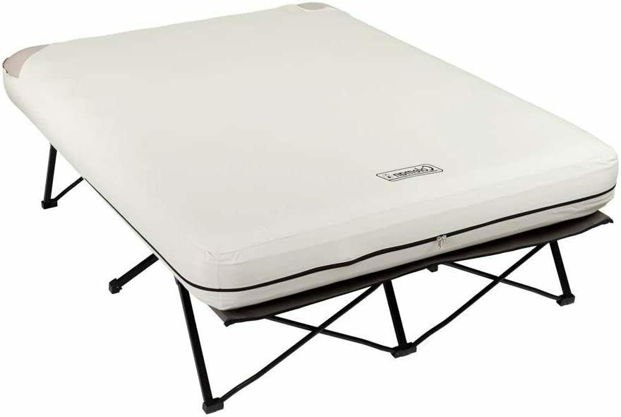 Folding Camp Cot Air Mattress portable ultralight heavy duty