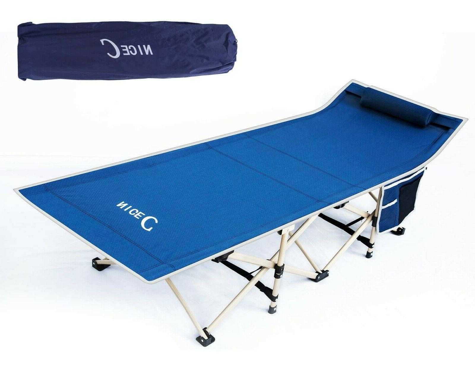 Folding Camping Portable Military Cot Sleeping Hiking Travel