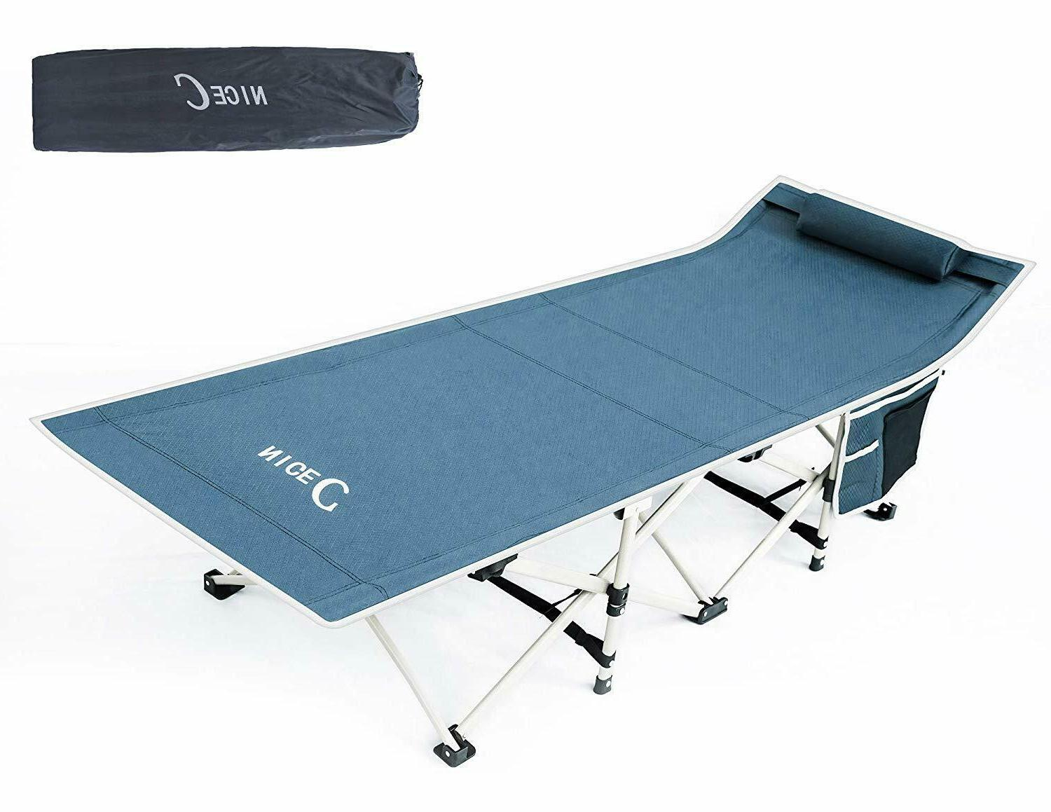 folding camping bed outdoor portable military cot